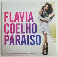 FLAVIA COELHO : PARAISO / PURA VIDA ♦ CD SINGLE PROMO ♦