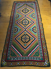 Old Embroidered Ukrainian Rug kilim handmade (№504)