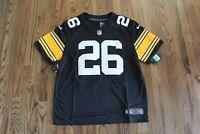 44 New Le'Veon Bell Pittsburgh Steelers Nike On-Field Jersey AJ6438-012 Mens XL