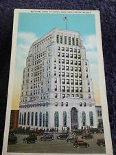 1930's The National Bank of Topeka Building in Topeka, Ks Kansas PC