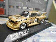 BMW 320 320i Gr.5 DRM Tourenwagen 1977 #4 Obermoser Warsteiner Minichamps 1:43