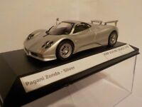 Pagani Zonda - Silver, Partwork Model , Diecast Metal Model, 1/43 Scale