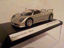 Pagani Zonda-Plata, PartWork modelo, diecast escala 1/43 Modelo de Metal,