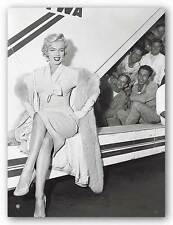 MARILYN MONROE ART PRINT Marilyn Monroe in Airport Sam Schulman