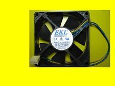 Pc Boîtier / Ventilateur CPU 80x80mm/3bis 4 Broches Pwm Fiche / Ekl R128025DU