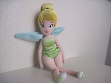 "16"" Disney Fairies TINKER BELL Plush Rag Doll"