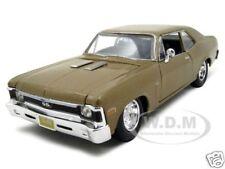 1970 CHEVROLET NOVA SS COUPE GOLD 1:24 DIECAST MODEL CAR BY MAISTO 31262