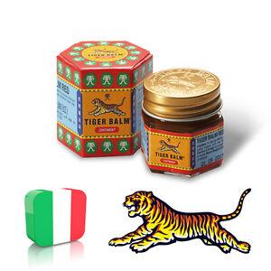 Balsamo di Tigre Rosso ORIGINALE Thailandese Tiger Balm Red Grande 30 grammi