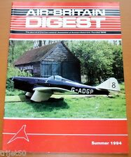 Air Britain Digest 1994 Summer NMAC,Percival Q6