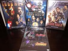 6 Marvel DVD Collection - Avengers, Ultron, Infinity War + Iron Man Trilogy 1-3