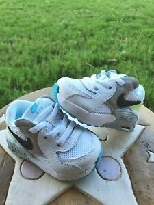 Nike Air Max Excee Gray/White/Lime/Blue BRAND NEW Toddler 3C
