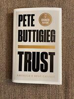 Secretary Pete Buttigieg Signed Book Trust - 2020 Democrat, Transportation