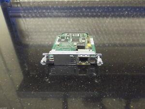 10 X Cisco VWIC2-1MFT-T1/E1  Multiflex Trunk Voice/WAN Interface Card