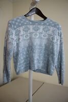 Bloomingdale's y.e.s.Multi-Colored Fair Isle Crew-neck Sweater Size - Large