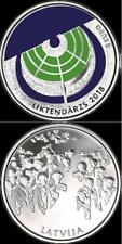 LATVIA LETTLAND 2018 5 Euro Silver Coin - Garden Of Destiny PROOF