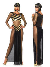 UK Egypt Cleopatra Goddess Roman Egyptian Women Halloween Fancy Dress Costume