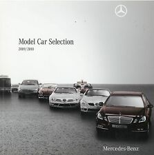 Mercedes Modellautos Prospekt 2009 2010 brochure Model Car Selection Katalog