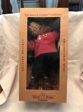 The Town & Country Collection Alton Blake Galleries Bear Golfer Golf Deco Box