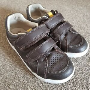 Boys Clarks Brown Trainers Size 10 H