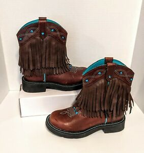 Justin Womens Boots GYPSY COLLECTION L2932 Size 6 B Gemma Cognac New with tags