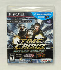 Time Crisis: Razing Storm PS3 Video Game BRAND NEW & FACTORY SEALED