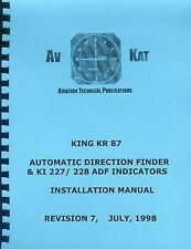 KING KR 87  ADF  AVIONICS INSTALLATION MANUAL