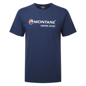 Montane Logo T-Shirt Men - Dark Blue