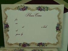 Küchen-Schreibwaren für besondere Anlässe Einladungskarten/Essen