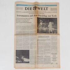 Die Welt Tageszeitung vom 22 Juli 1969 Mondlandung