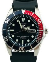 Seiko 5 Sports Automatic Black Sea Urchin 'Pepsi' Dial Mens Watch SNZF15J1 £299