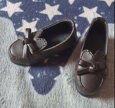 BJD 1/4 MSD Dark Brown Shoes