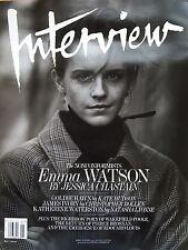 Interview Magazine Emma Watson Goldie Hawn James Ivory Katherine Waterston NEW