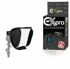 Ex-Pro 25cm Folding Softbox Portable Mini Diffuser Flash Studio Speedlight