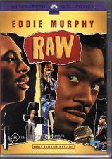 EDDIE MURPHY RAW - DVD R4 (2004) LIKE NEW - FREE POST