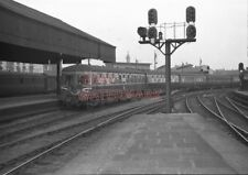 PHOTO  INTER CITY UNIT ARRIVING AT GLASGOW (ST.ENOCH) STATION WITH SERVICE FROM