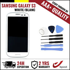 AAA+ LCD TOUCH SCREEN/SCHERM/ÉCRAN WHITE + TOOLS FOR SAMSUNG GALAXY S3 I9300