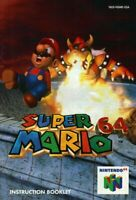 Super Mario 64 - Authentic Nintendo 64 (N64) Manual