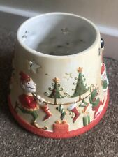Yankee Candle Large Santa's Elves Christmas Candle Shade