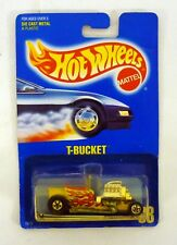 HOT WHEELS T-BUCKET #68 Vintage Diecast Car All Blue Card MOC COMPLETE 1991