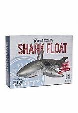 Wembley Great White Shark Pool Float 5.5 Foot Inflatable for Water Fun  NEW