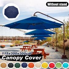 9.8FT Umbrella Canopy UV Top Cover Replacement Market Beach Garden Patio