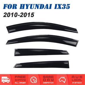 Weathershields Weather shields Window Visor For Hyundai IX35 2010 to 2015