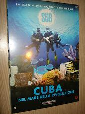 DVD N° 12 SUB LA MAGIA DEL MONDO SOMMERSO CUBA NEL MARE DELLA RIVOLUZIONE