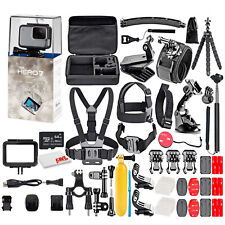 GoPro HERO7 White -Waterproof Action Camera - Fully Loaded Bundle