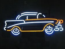 "New Vintage Old Car Man Cave Garage Neon Sign 18""x14"""