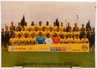 Borussia Dortmund + Deutscher Fußball Meister 2012 + Fan Big Card Edition F100 +