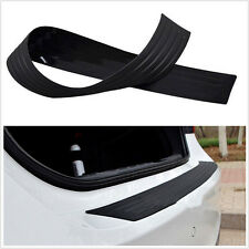 Car Rear Guard Bumper Trunk Sill Plate Rubber PAD Protector Trim Cover for Ford