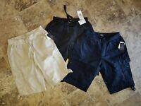 Nwt Womens Calvin Klein Shorts Cargo Black Beige Khaki Navy Blue Small S 2XL XXL