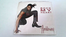 "HADDAWAY ""ROCK MY HEART"" CD SINGLE 2 TRACKS CARDSLEEVE NEW"