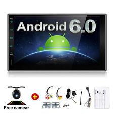 Android 6.0 Car Audio GPS Navigation 2DIN Car Stereo Radio Car 3G Wifi USB + CAM